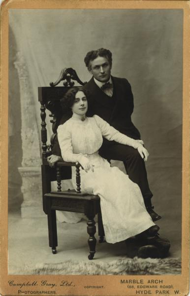 This Day in Celebrity Weddings: Harry Houdini and ...