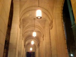 Exterior of the Courtyard Mariott Philadelphia