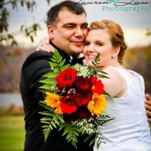 Poconos Bride and Groom