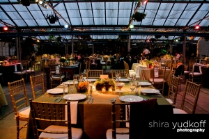 Wedding Reception at the Philadelphia Horticulture Center