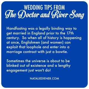 Doctor Who Wedding Advice