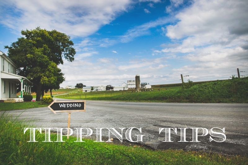 wedding tipping tips